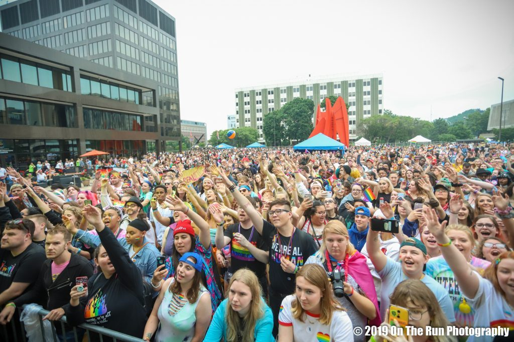 Grand Rapids Pride Festival celebrates with music, powerful message: 'This is our time'