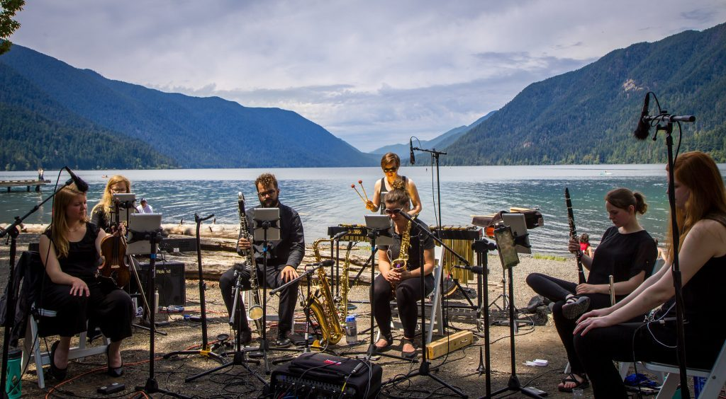 Grand Valley's New Music Ensemble eyes release of album inspired by National Parks