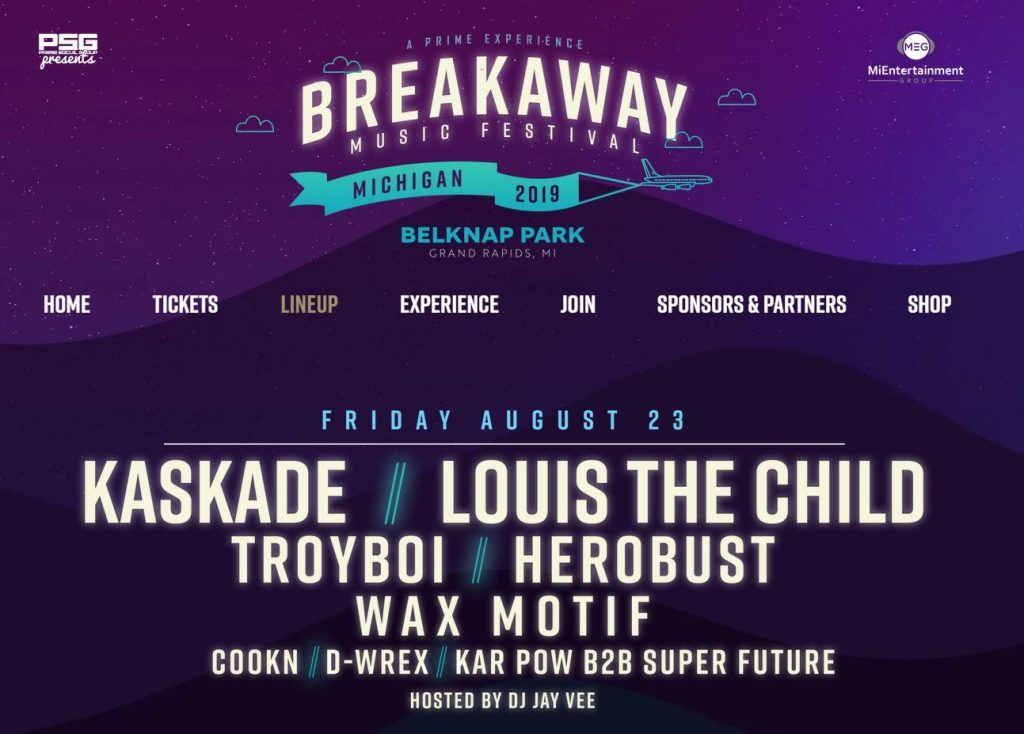 Breakaway Festival shakes up Grand Rapids with thumping beats, stacked opening day