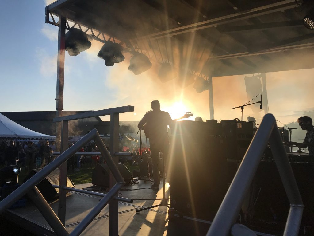 Perrin Brewing revels in diverse music, sunshine, full moon for anniversary bash