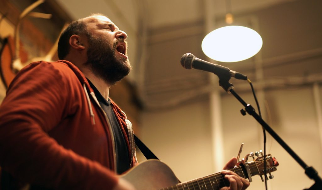 David Bazan's transfixing, transforming music on stage and on the screen in GR: The Q&A