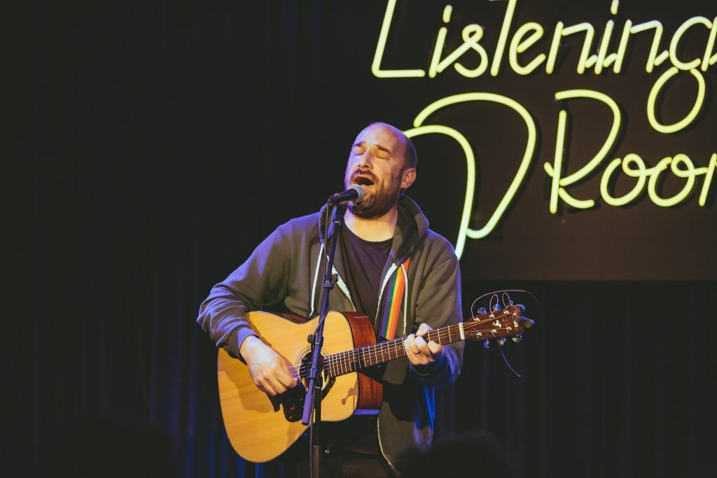 David Bazan provokes and inspires at Grand Rapids' Listening Room