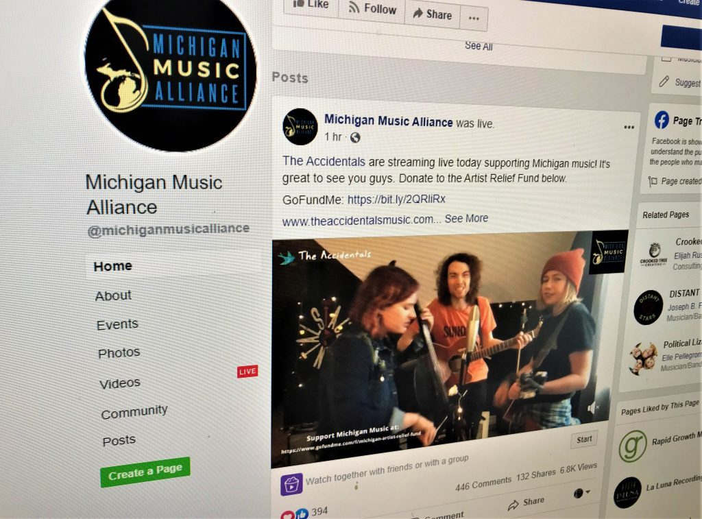 First-ever online 'Spread the Music' fest raises more than $11,500 for Michigan musicians