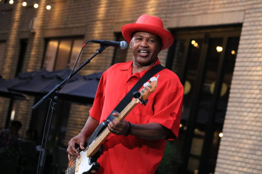 'Listening Lawn' brews up soul, funk and 'Blues You Can Use' for second downtown concert
