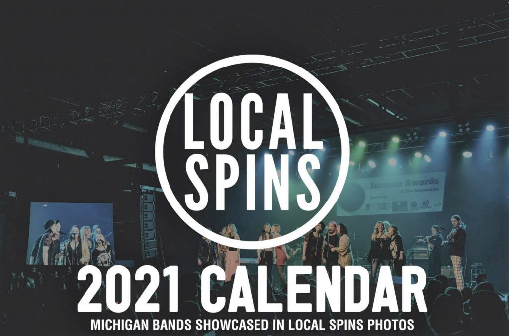 Local Spins 2021 Calendars: Looking back at Michigan bands, looking ahead to brighter days