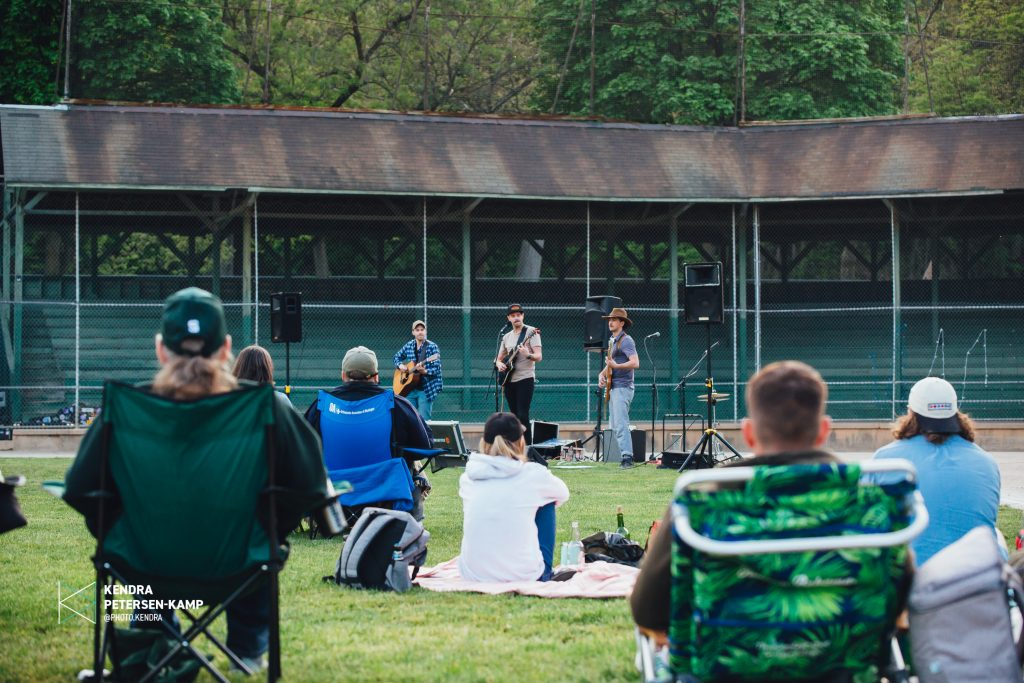 The Hacky Turtles hit home run as trio with first concert at Sullivan Field