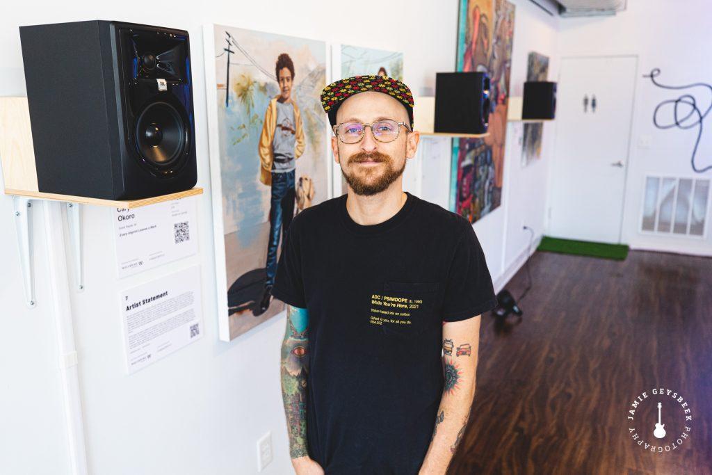 Musician Eli Kahn makes 'escape to our dreams' a unique ArtPrize experience